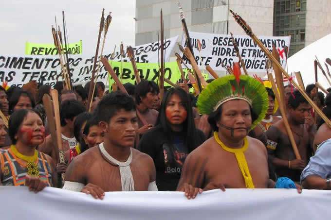 Protests in Brazil orTheir Own Land Rights