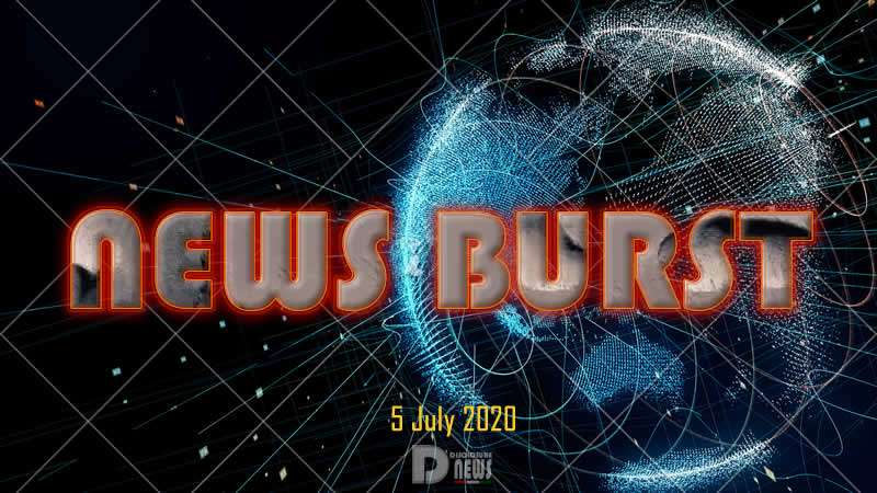 News Burst 5 July 2020 - Live Feed