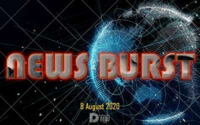 News Burst 8 Agosto 2020 – Live Feed