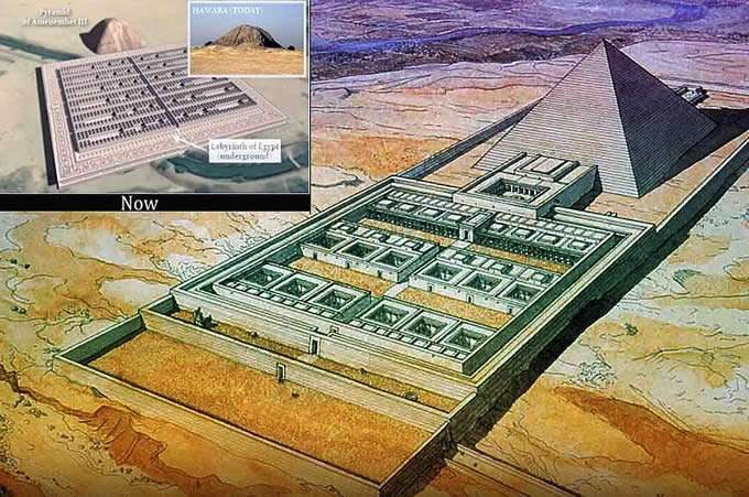 The Light Forces Ops In Egypt - El Faiyum Labyrinth