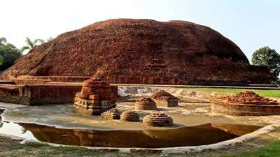 Light Forces Operations In India - Buddha's Cremation Site