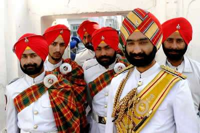Light Forces Operations In India - Sikhs
